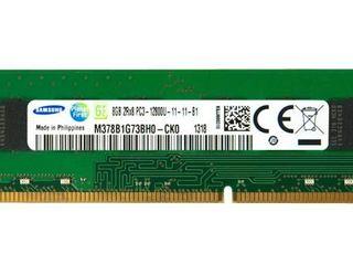 DDR3 PC3 – 12800 – 1600 - 4 / 8 GB pentru stationar 12800/1600 300 / 600 lei