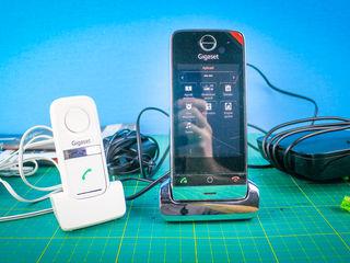 Urgent! Домашний телефон / Telefon Fix - Gigaset SL910 SL910A + Gigaset L410