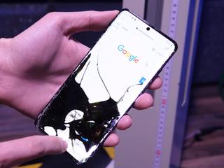 Samsung Galaxy S20 Треснул экран – на ремонт отдавай нам!