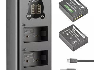 Аккумуляторы NP-W126 для Fuji X-Pro1, X-Pro2, X-T1, X-T2, X-T3, X-T10, X-T20, x-T30, X-T100 / X-H1