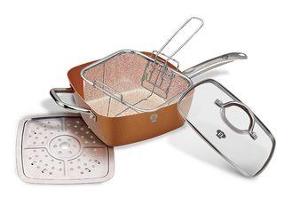 Сковородка с набором для фри 8 в 1. Бесплатная доставка