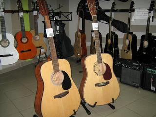 Акустические гитары Lucia и Rigeira по 1500 лей ! Cалон музыкальных инструментов Nirvana !
