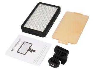 Накамерный LED свет 160, 49 светодиодов, ультра тонкие, ультра лёгкие, 3200k, 6000К