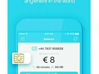 Путешествуйте с супер универсальной мобильной связью по супер цене в 10 евро!!!!