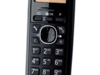 Dect Panasonic KX-TG1611PDH, black