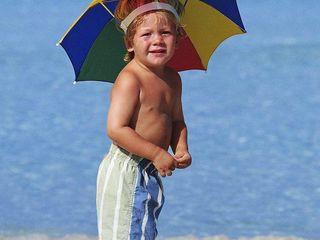Umbrela pentru cap!