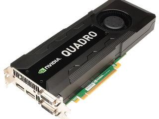 nVidia Quadro p4000, k5200, k5000, p620, p600, k620 и другие профессиональные видеокарты