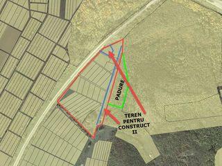 La traseu teren 6,3 ha +padure 1,5 ha pentru zona de agrement,aquapark,restaurant,vile. chisinau