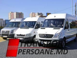 Transport zilnic Moldova - Germania, in toate orasele.