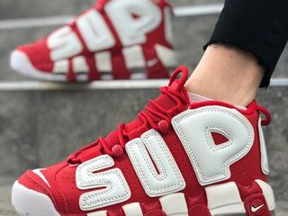 Nike Air More Uptempo Red x Supreme