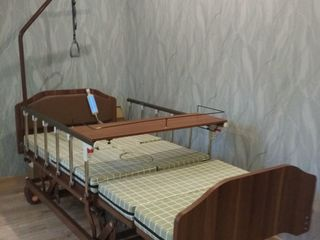 Кровать-кресло: vip оснащение + противопролежный матрац - новое