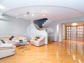 Apartament 2 nivele, 237 mp, bloc nou, euroreparație, Buiucani.