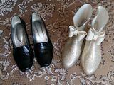 Продам туфли и стильные резиновые сапоги, размер 38.