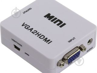 Адаптер-переходник VGA - HDM /  HDM -VGA