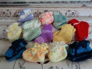 Пинетки и носочки для самых маленких