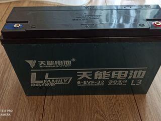 Тяговый гелевый аккумулятор 12V 6-EVF-32 32AH - 38AH