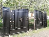 Forjat portii.калитки на заказ  ворота  лей, решетки,перила,козырьки moldova