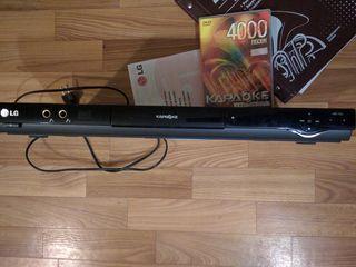 DVD-плеер с караоке LG dks 9000   воспроизведение с USB-накопителей поддержка MPEG4, DivX караоке мн
