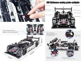 Гоночный автомобиль Лего (1586 деталей)  с 3 моторами!!!