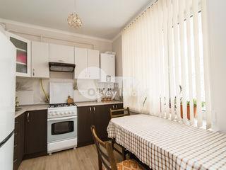 Apartament în bloc nou, euroreparație, mobilat, Buiucani, 33600 € !