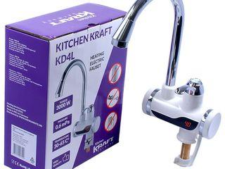 Электрический кран 3Kw Kitchen Kraft KD4L