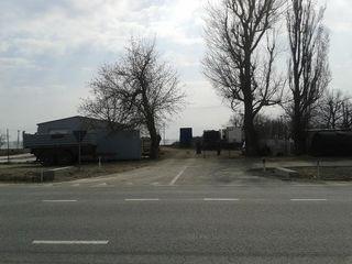 Se vinde stație de reparație + loc pentru construcția unei benzinării (20 km după Orhei, traseu cent