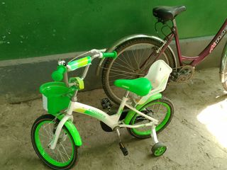 Bicicleta pentru copii de la 6 ani