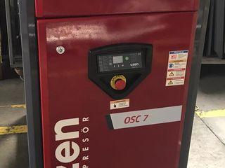 Винтовой компрессор 7,5 кВт 1м3/мин. Compresor cu surub OZEN.