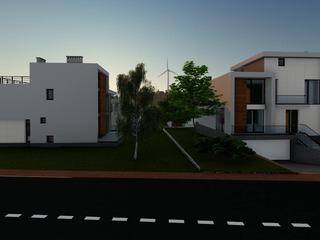 Casă individuală de lux în cartierul rezidențial Poiana Pinului din sectorul Botanica.