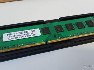 RAM DDR3 - 8GB PC3-12800 1600GHz