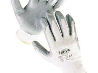Перчатки HS-04-001 покрытые нитрилом