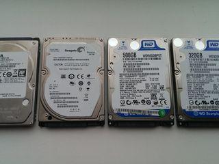 """Куплю HDD и SSD для ноутбука на 2.5"""" 80-160-250-320-500-1000gb"""