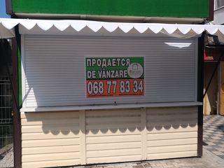 Продается торговое помещение 8,5 кв.м. на площади Автовокзала г. Бельцы