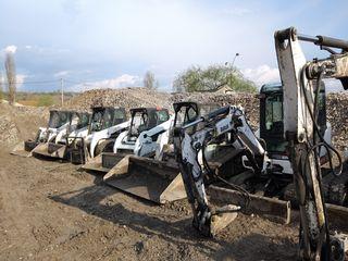 Oferim servicii mecanizate. Bobcat, Miniexcavatoare, Compactoare, Camioane.