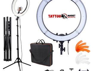 Профессиональная кольцевая LED лампа используется во всех сферах индустрии красоты !