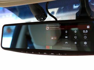 Мультимедийное зеркало-видеорегистратор Навигация  Android .Wi-Fi и 3G.Bluetooth.Камера в подарок