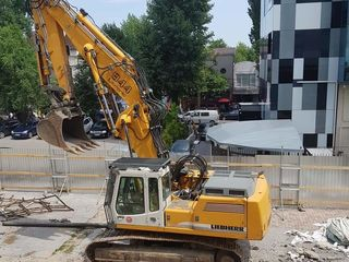 Demolari mecanizate , exavatoare pentru demolari,demontaj.