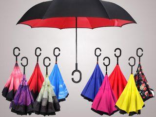 Ветрозащитный зонт Up-brella. Остается сухим после дождя!  Доставка по всей Молдове!