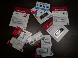 USB flash drive 4GB -128GB Transcend, Silicon Power, Adata, Goldkey, Kingston! Garantie!