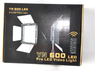 Yongnuo YN-600II, Светодиодный свет, 110V/220V AC Adapter для Yongnuo и плюс 2 батарейка NP-F970Sony