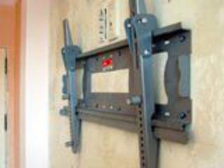 Установка телевизоров на стену; кронштейны / Montarea televizoarelor pe perete. Antene parabolice
