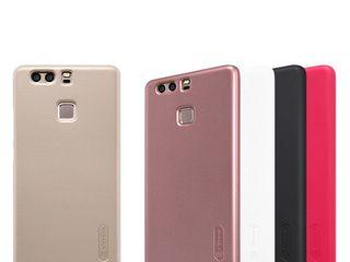 Huawei P9 чехол Nillkin Frosted Shield + защитная плёнка