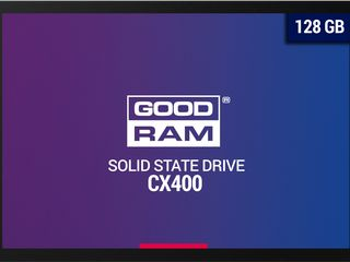 "2.5"" SSD  128GB Goodram CX400, SATAIII, Sequential Reads: 550 MB/s, Sequential Writes: 450 MB/s, Max"