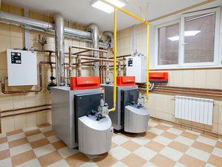Монтаж систем отопления в Бельцах