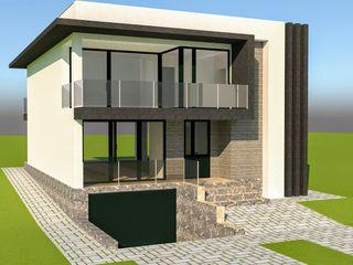 Casa in stil hi-tech.Reparație la cheie. 240 m2.Gratieşti.Zona nouă!!