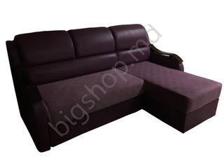 Canapea de colt V-Toms T1+G1 (2.41.5 m ) Violet. Oferim garanție!!