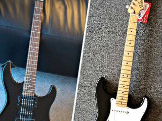Fender Mexico 2001= 540 EU! Yamaha =2760 лей (бартер) Electro Guitar $