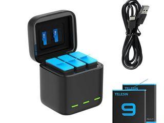 Для GoPro Hero 9 два аккумулятора и зарядка