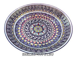 Узбекская посуда Риштан