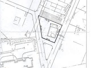 5 ari de teren pentru constructii in or. Ungheni pe str. Nationala linga spitalul raional cu constru